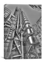 Lloyds HDR, Canvas Print