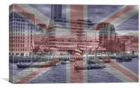 Thames Barges Tower Bridge 2012, Canvas Print