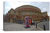 Royal Albert Hall, Canvas Print