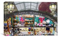 Covent Garden Apple Market, Canvas Print