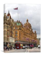 Harrods of Knightsbridge, Canvas Print