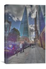 The Shard high rise, Canvas Print