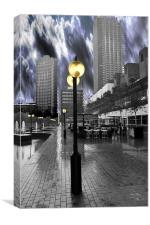 The Barbican Centre HDR, Canvas Print