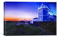 Trinity House Lighthouse Fractals, Canvas Print