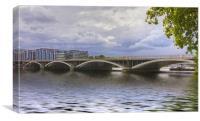 London Thames Bridges, Canvas Print