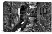 Morden Hall Park London, Canvas Print