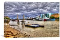 Tower Bridge HDR, Canvas Print