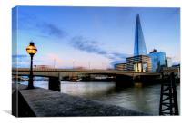 The Shard London skyline, Canvas Print