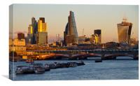 City of London Skyline, Canvas Print