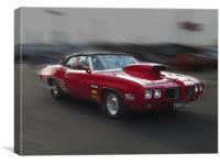 Classic Pontiac, Canvas Print