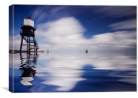 Dovercourt Essex Lighthouse, Canvas Print