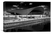 London Aquatics Centre, Canvas Print