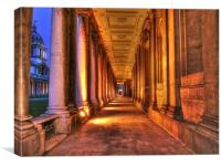 Greenwich Royal Naval College, Canvas Print