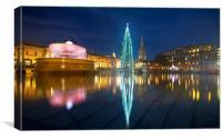 Christmas  Tree Trafalgar Square, Canvas Print
