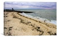 Whitstable fishing village,, Canvas Print