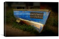 Whitstable Oysters, Canvas Print