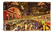 London Liverpool Street Station, Canvas Print