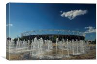 Olympic Stadium Stratford, Canvas Print