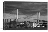 Queen Elizabeth 11 Bridge Dartford Crossing, Canvas Print