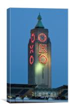 Oxo tower, Canvas Print