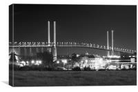 QE11 Bridge Dartford Crossing, Canvas Print