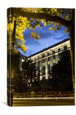 The Savoy Hotel, Canvas Print