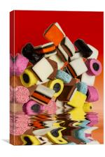 AllSorts Sweets, Canvas Print