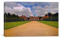 Blickling Hall Norfolk HDR, Canvas Print