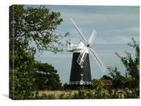 Burnham Windmill, Canvas Print