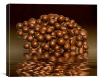 Revels chocolate sweets, Canvas Print