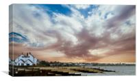 Old Neptune Whitstable, Canvas Print