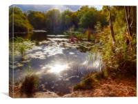 Epping Forest Fractals, Canvas Print