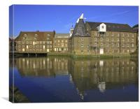 Three Mills, Canvas Print