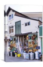Ironmongers shop, Canvas Print