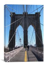 Brooklyn Bridge , Canvas Print