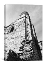 Kelso Abbey Spire , Canvas Print