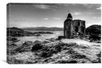 Tarbert Castle 2, Canvas Print