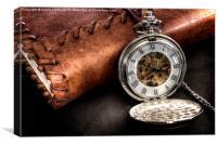 Pocket Watch, Canvas Print