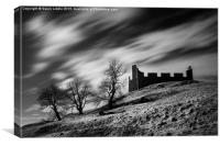 Hume Castle IR , Canvas Print