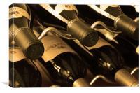 Wine Bottles, Canvas Print