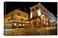 Le Consulat, Montmartre, Paris, Canvas Print