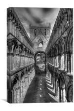 Jedburgh Abbey 2, Canvas Print
