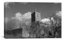 St Peters Church, Bristol, Canvas Print