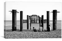 West Pier Brighton, Canvas Print