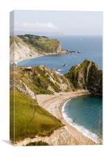 Dorset Coastline, Canvas Print