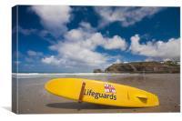 Lifeguards, Canvas Print