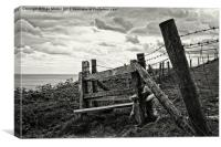 Old Stile, Canvas Print