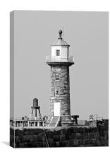 Whitby Lighthouse, Canvas Print