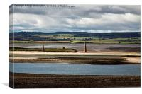 A view From Holy Island - Lindisfarne, Canvas Print