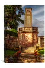 Jedburgh War Memorial, Canvas Print